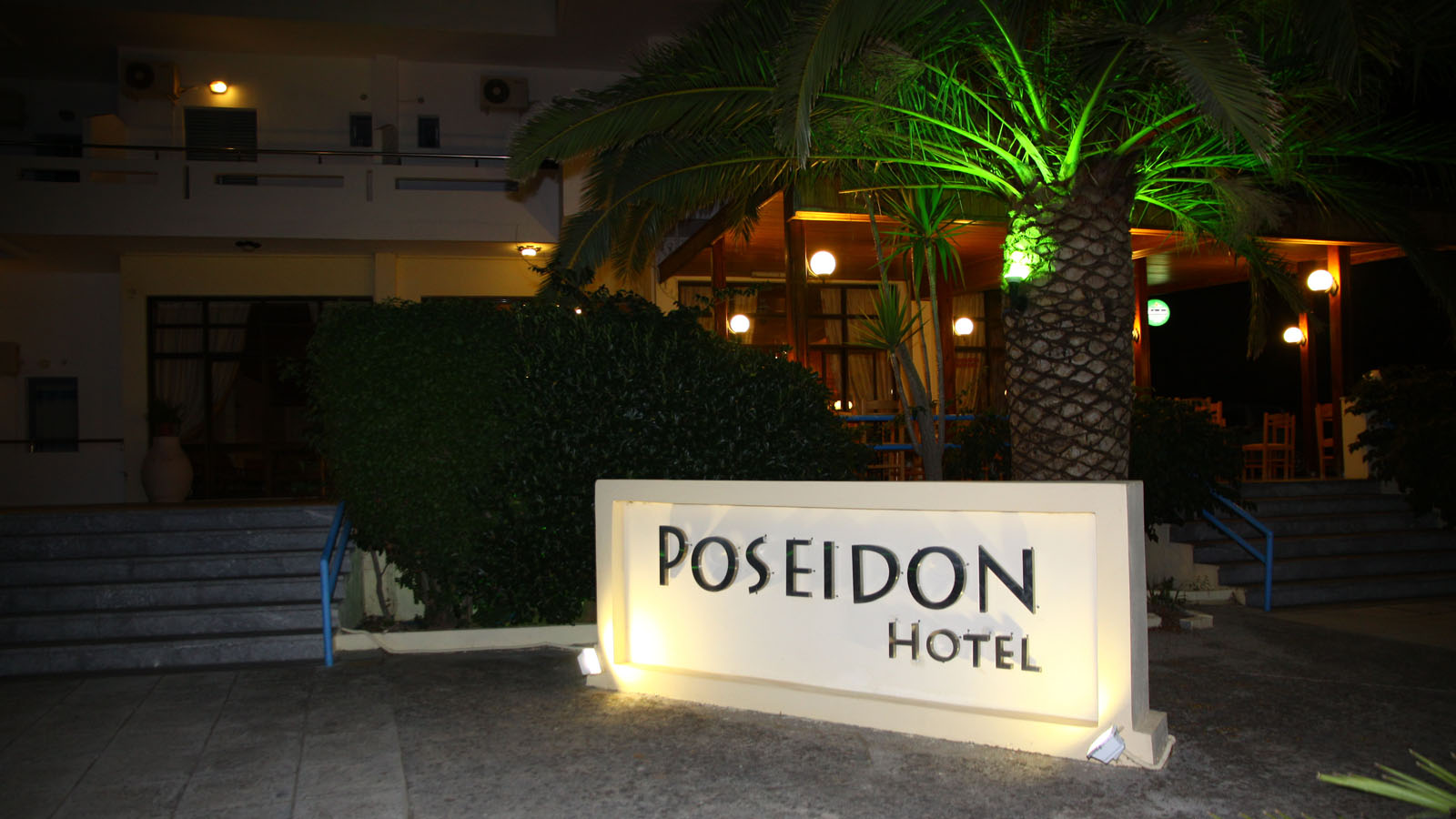 Hotel Poseidon Amoudara::Main Entrance