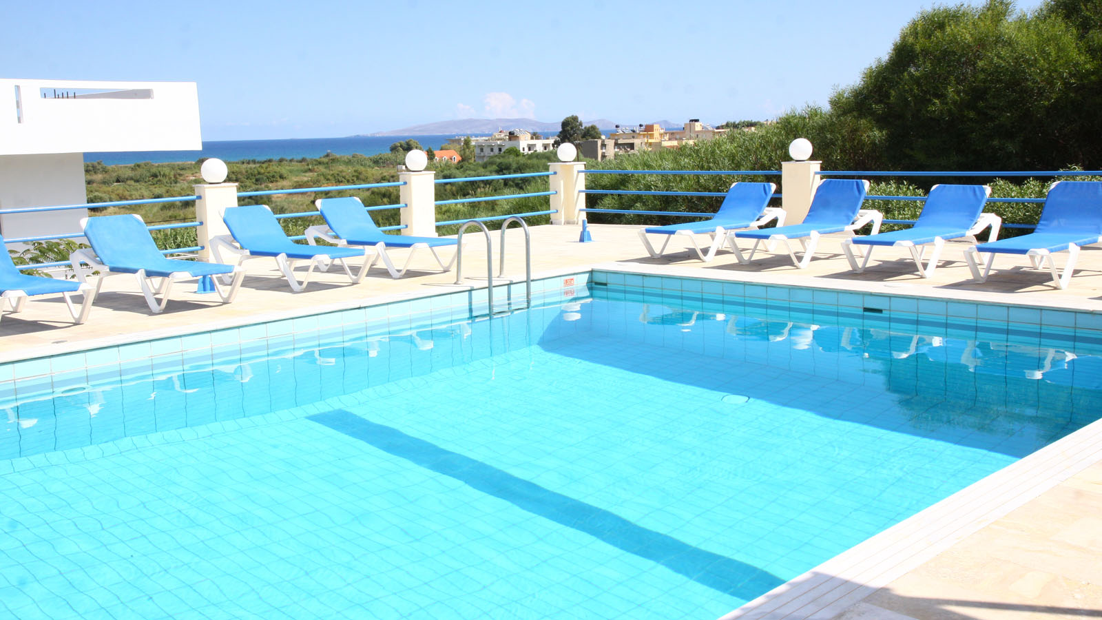 Hotel Poseidon Amoudara::Pool View